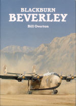 The book cover showing a Beverley taiking off from a destert strip